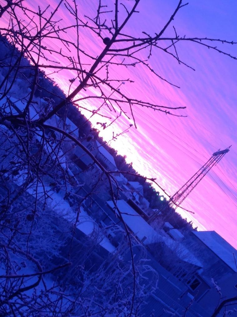 новый год, восход солнца