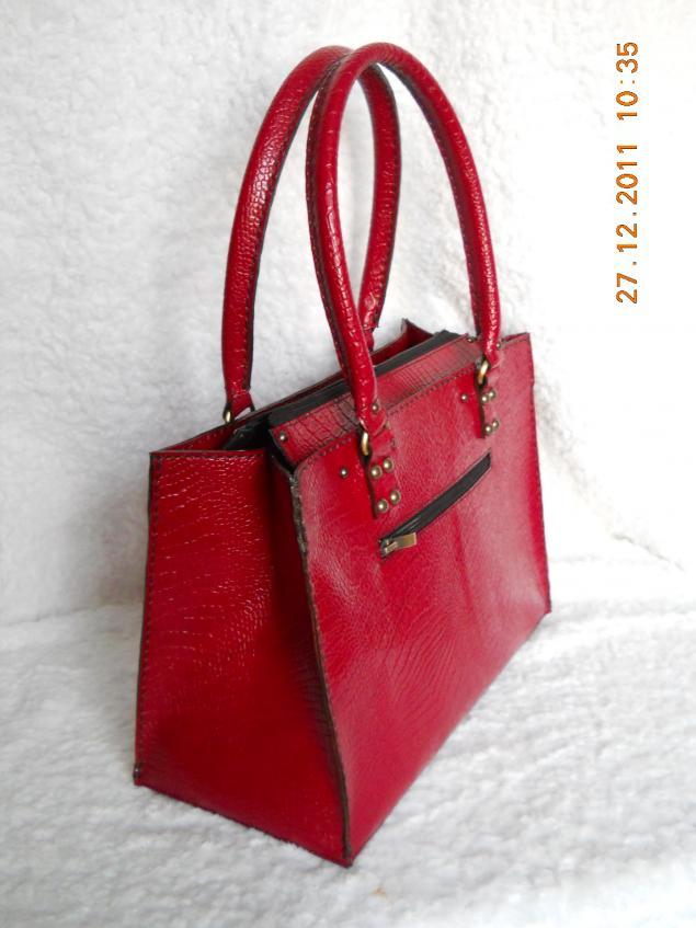 сумка ручной работы, изделия из кожи