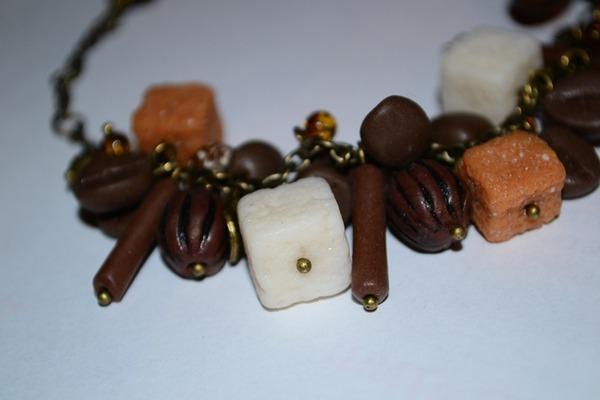 ручная работа, яшма, какао-бобы