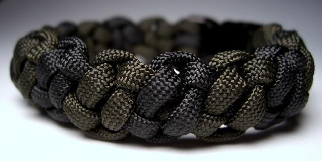 Вязанные браслеты мужские