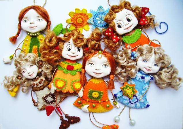 подвеска, сувенирная кукла, подарок