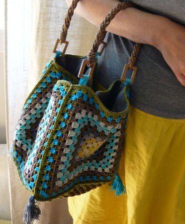 Как связать стильную сумку