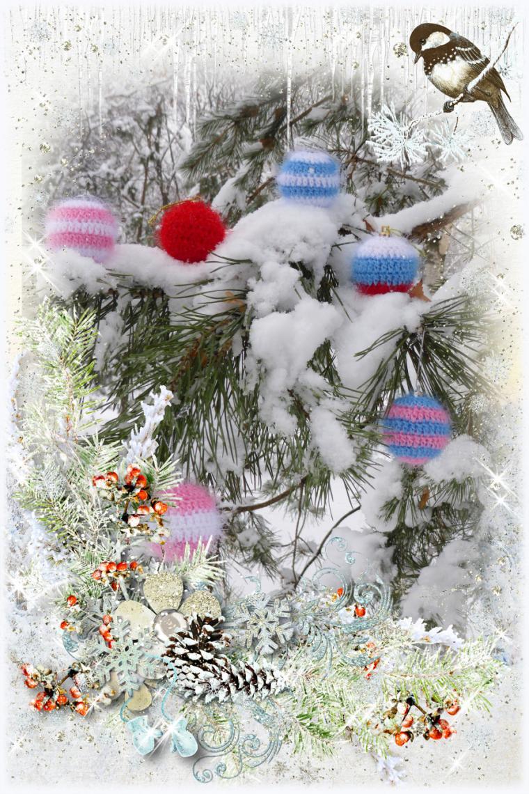 подарки, открытка, коты, заяц, зайчик, елочные игрушки, подарок на новый год, новый год 2015, подарок ребенку, sale