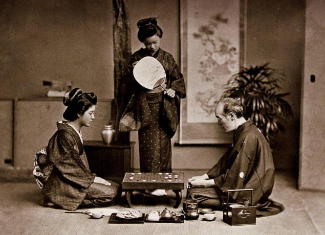 японский веер, аксессуары