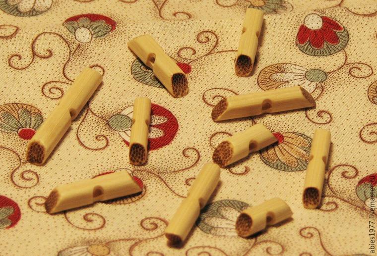 экопуговица, бамбуковая палочка