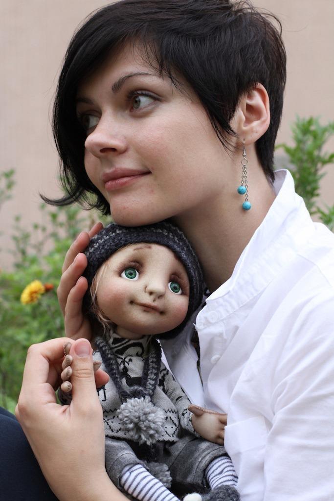 кукла, шерсть, сухое валяние, глазки, мастер-класс, екатерина воробей, фильцевание, ручная работа, опыт, вдохновение, блог, личное