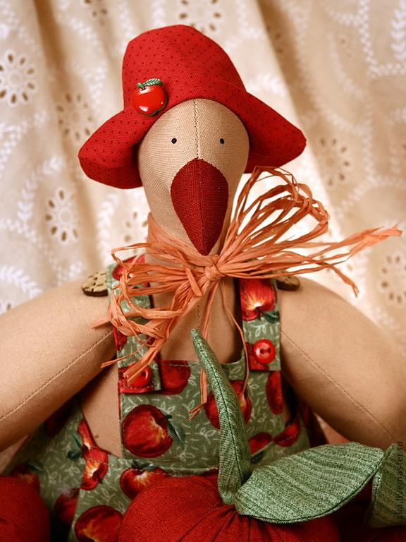 оригинальный подарок, школа декупажа, курсы, игрушки ручной работы, тильда птицы