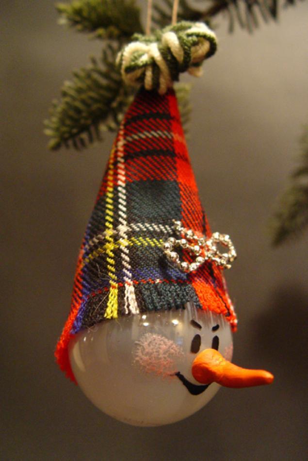 наш новогодние игрушки из лампочек своими руками фото пахлава