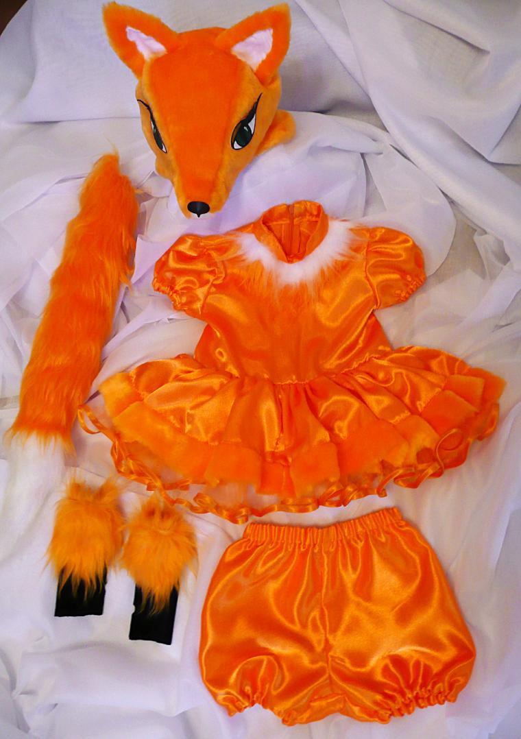 Картинка костюм лисы