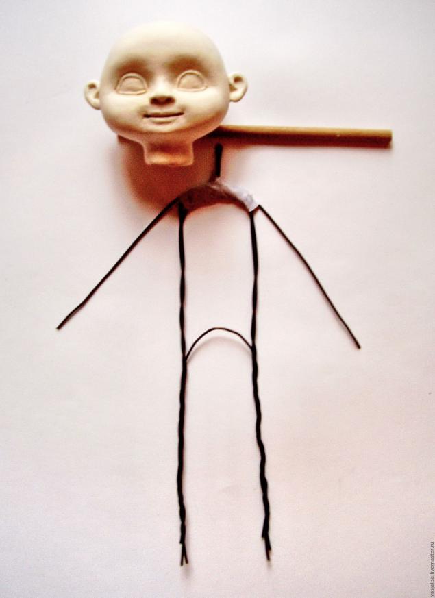 Куклы на каркасе своими руками мастер класс 49
