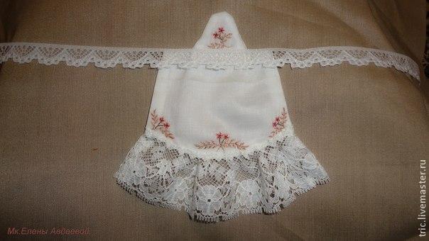 Одежда для кукол .Фартучек., фото № 25