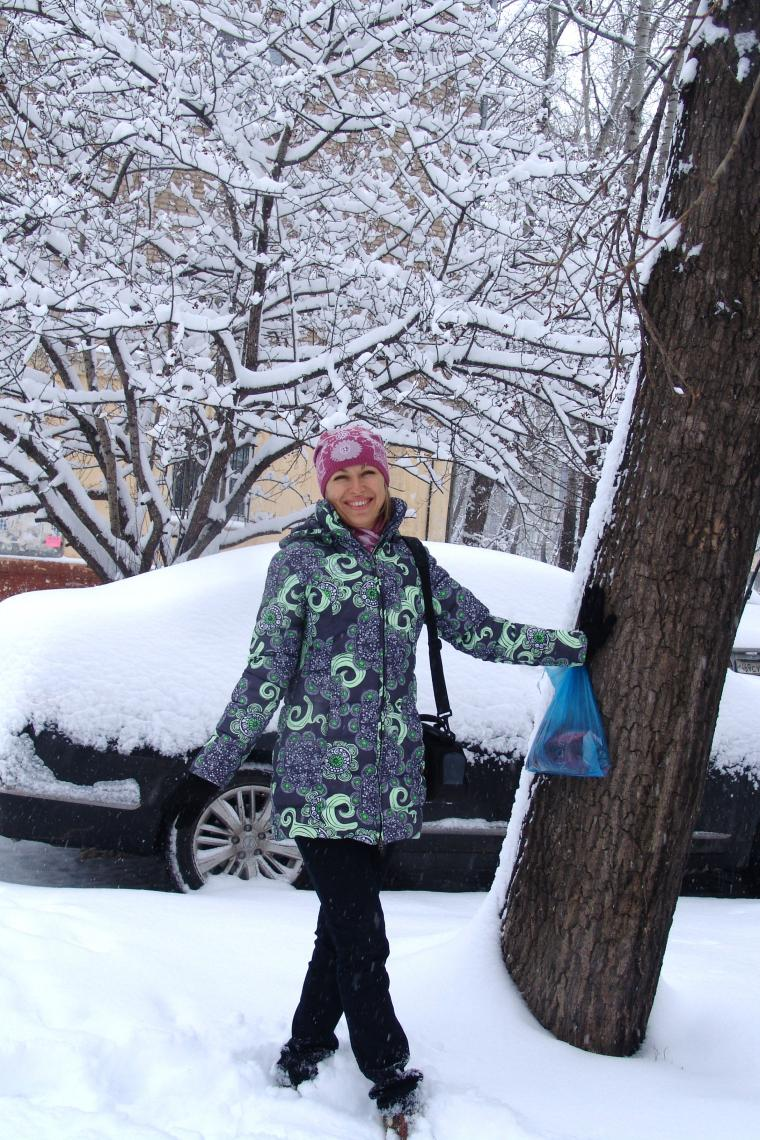 настроение, первый снег