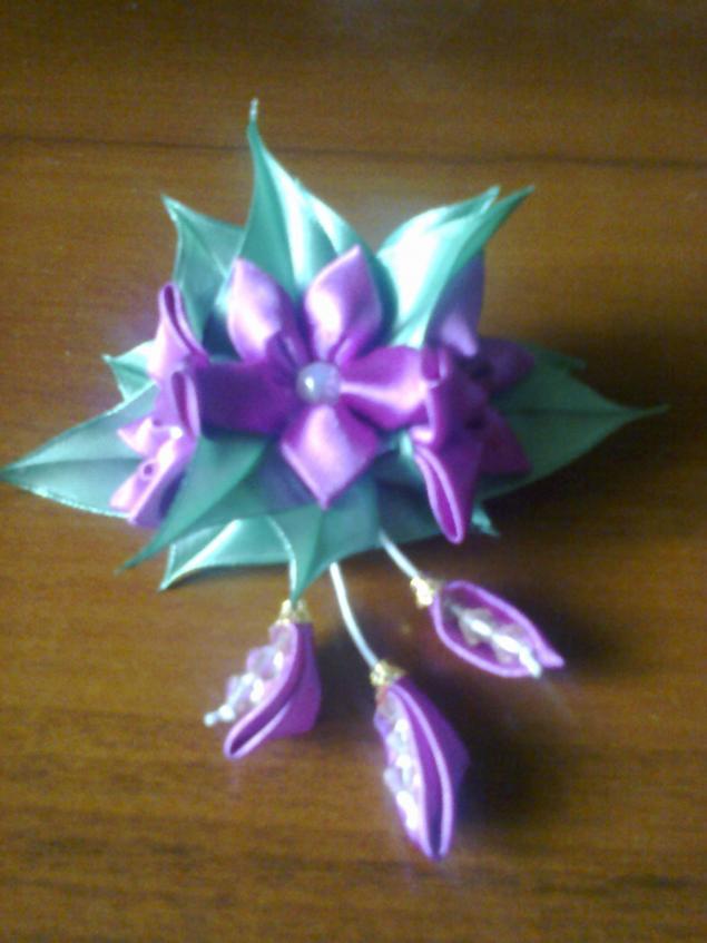 украшения ручной работы, цветы, аксессуары, стильное украшение