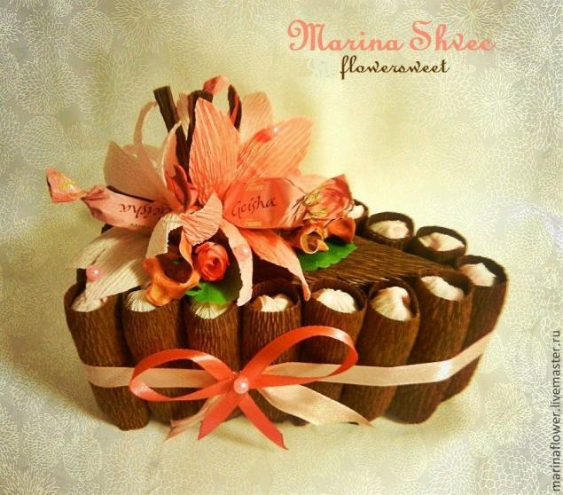 конфетный букет, сладкий подарок