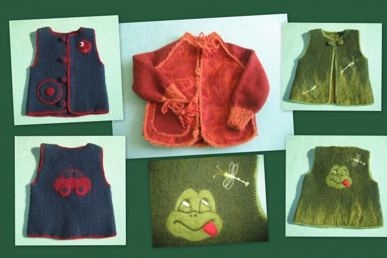 детская одежда, ручная работа