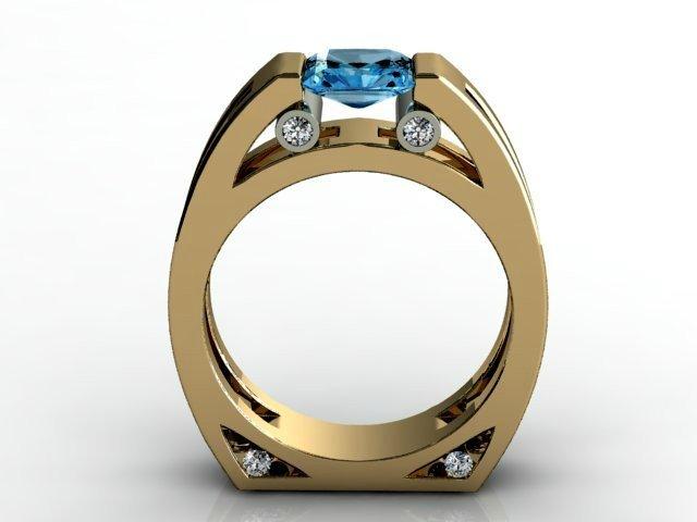 некруглое кольцо