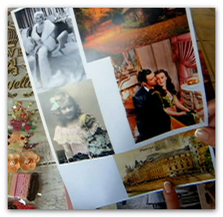 создание фотоальбома