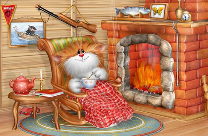 сказочные персонажи, коты, мыши, для малышей