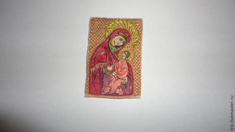 Вышивка иконы миниатюра