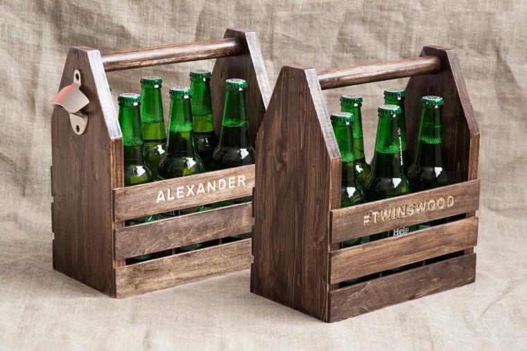 Как сделать ящик для бутылок своими руками 49