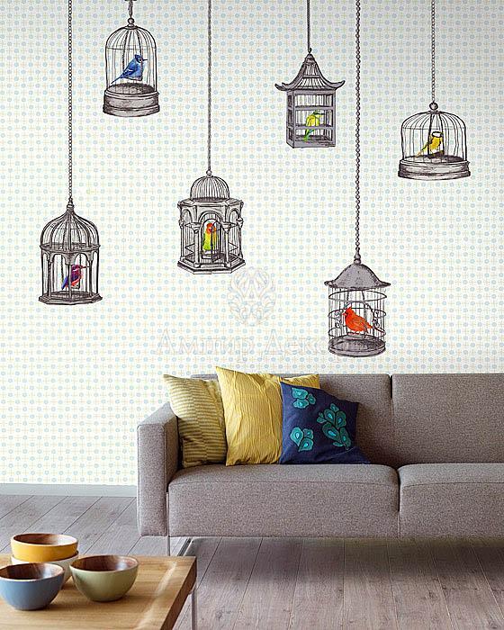 роспись стен холодильника, роспись стены в доме