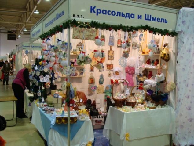 выставка, подарки к новому году
