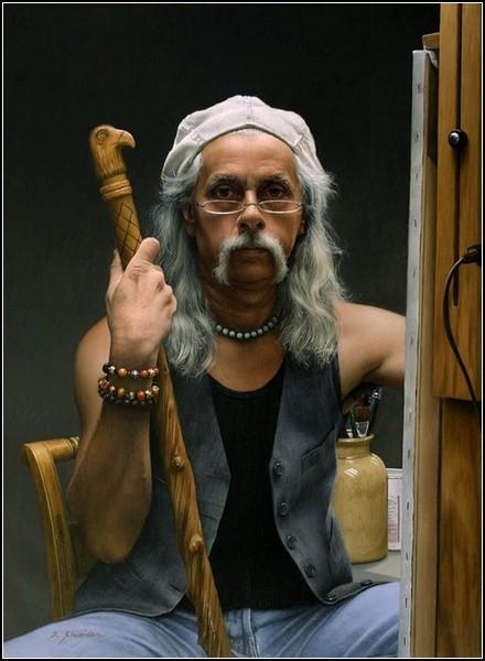 Даффи Шеридан. Автопортрет