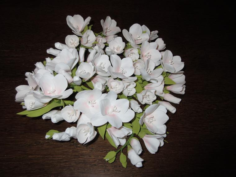 самый большой заказ, фрезии из фоамирана, цветы ручной работы