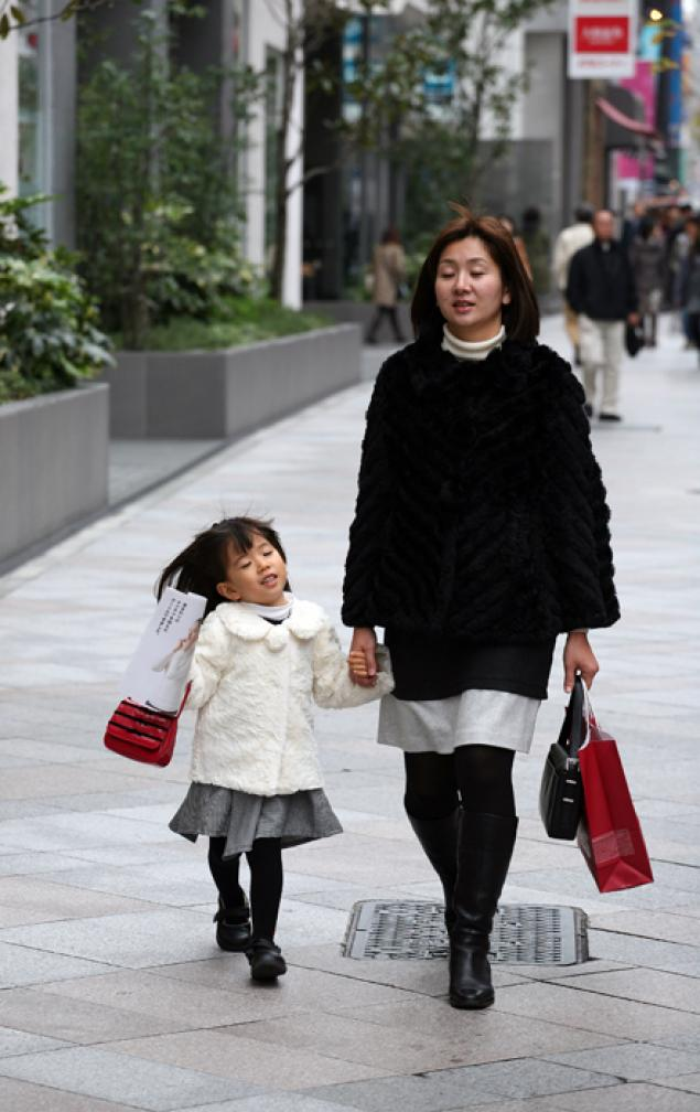 Мода японских девочек (36 фото) .
