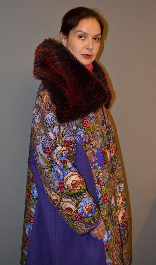 акция магазина, зимнее пальто, пальто ручной работы