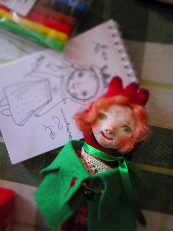 кукла, фото