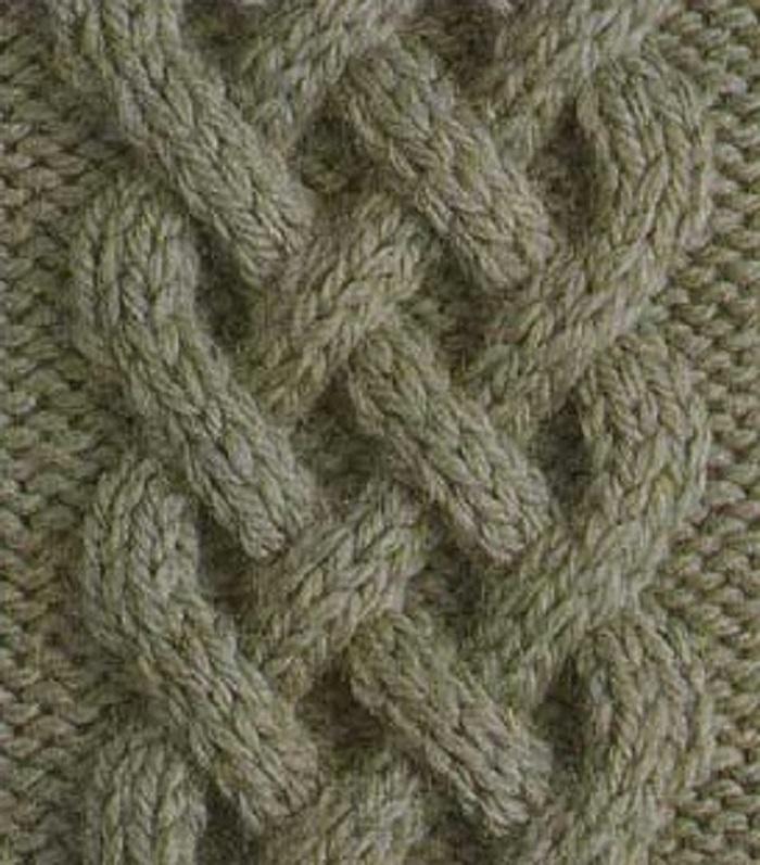 Вязание кельтская коса