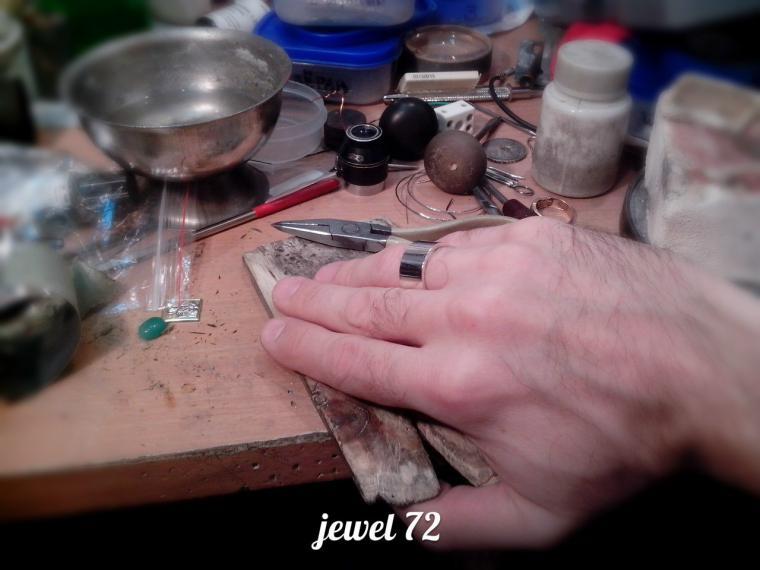 Делаем стильное кольцо из серебра, фото № 21
