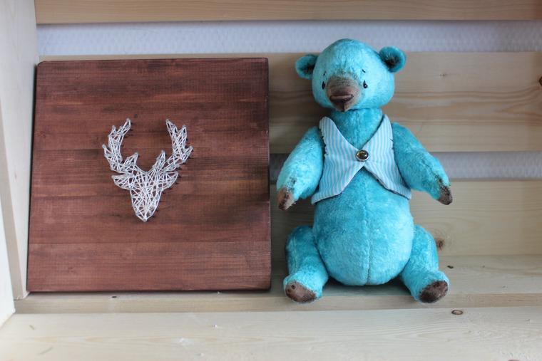аукцион сегодня, аукцион, мишки тедди, небо, голубой, подарок своими руками, ручная работа, нежность