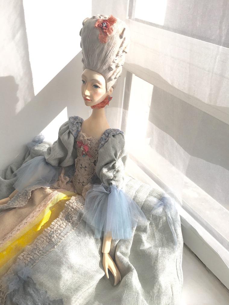 Отражение эпохи 18 века в кукле, фото № 1