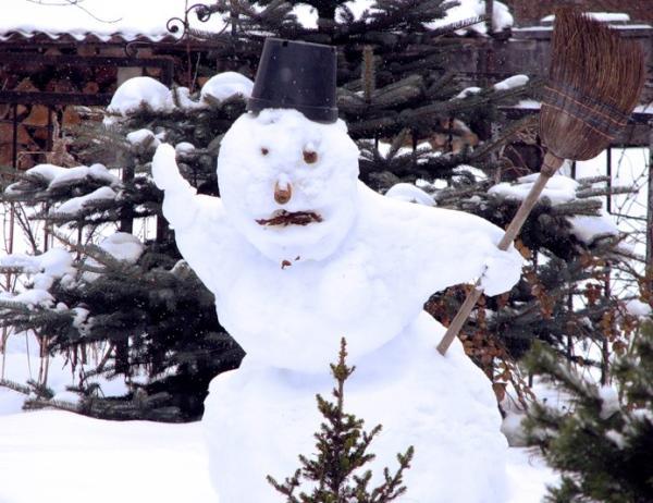 Иван Иваныч Снеговик или пару строк из биографии Снежной Бабы :-), фото № 14