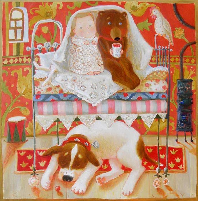 Путешествие в детство с белорусской художницей Анной Королёвой, фото № 3