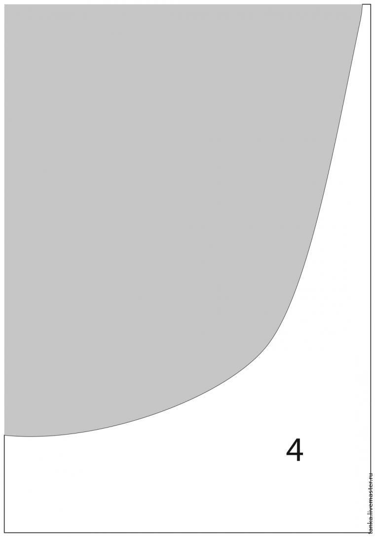 Увеличение шаблона в графической программе Иллюстратор, фото № 11