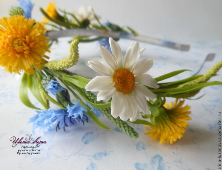 цветы, венок, отзыв, подарок девушке