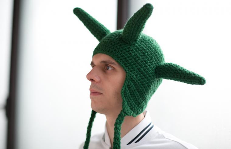 как связать смешные шапки для фотосессии ладошки нужно подготовить