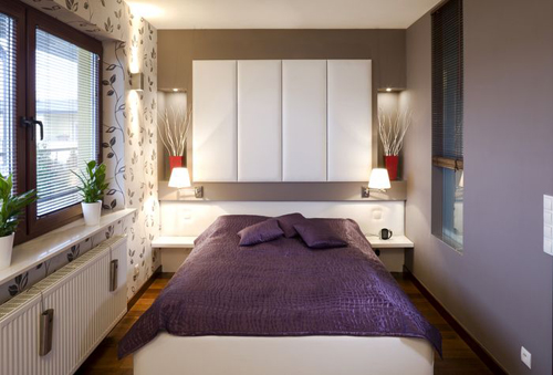 Как сделать маленькую спальню