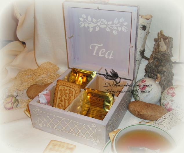 чайная коробка, короб для чая