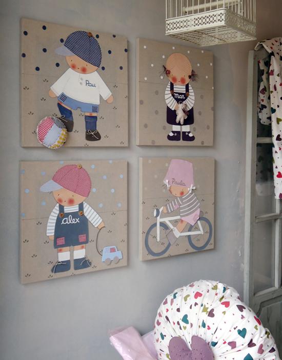 Панно своими руками для детской комнаты