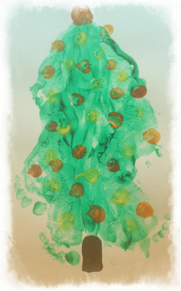 Каляки-маляки или Как мы рисуем пальчиками, ладошками и ножками, фото № 5