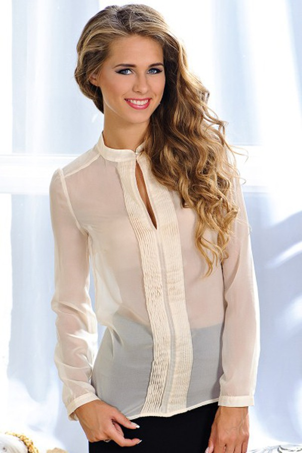 Прозрачные блузки: как носить новые фото