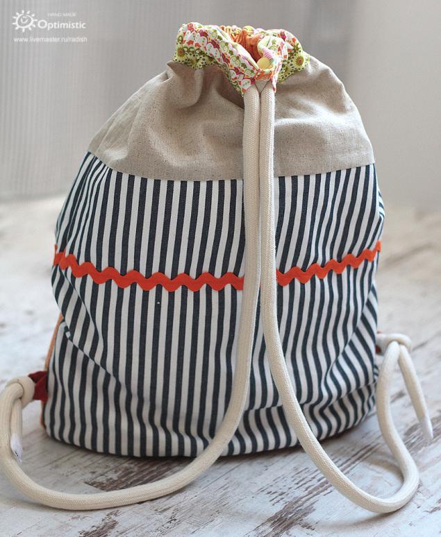 Торба рюкзак своими рука