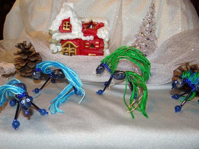 лошадка, синяя лошадь, подарок