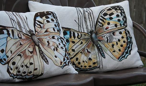 Бабочки как элемент дизайна интерьера, фото № 28