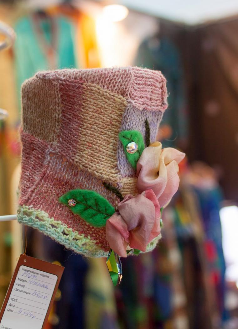 новогодние подарки, купить подарок новогодний, вязаная шапочка