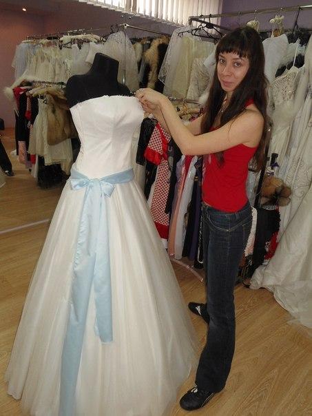 Пошив свадебное платье мастер класс